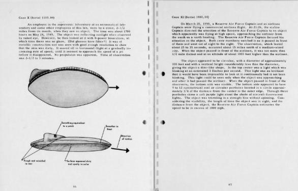Проект Синяя Книга - изучение НЛО в США