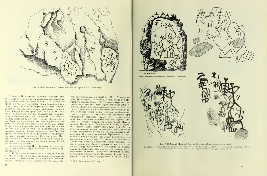 Наскальные изображения Урала