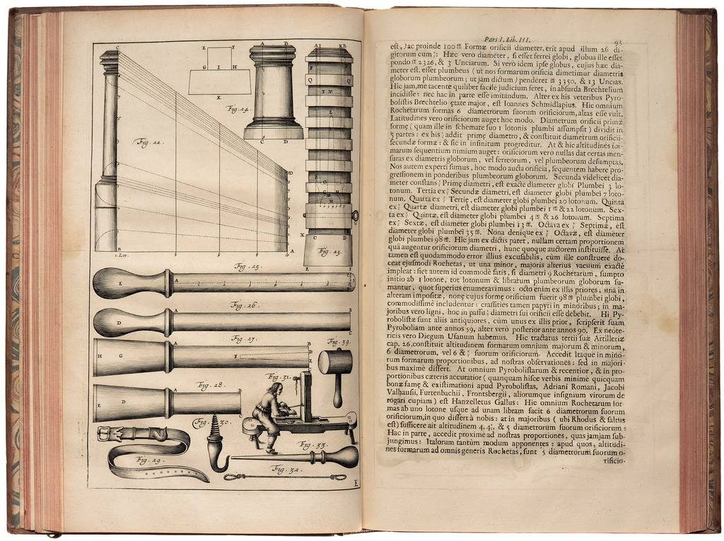 Ракеты 17 века - исторический факт